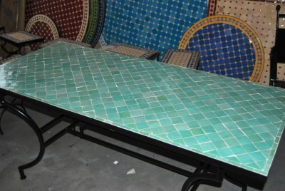 Marokkaanse mozaiektafels en fonteinen marokko mozaiek het adres