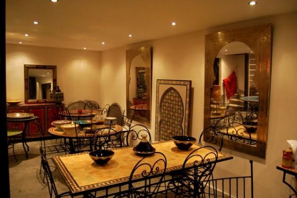 Marokkaanse Lampen Goedkoop : Marokkaanse mozaiektafels zilveren dienbladen lantaarns