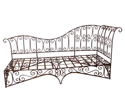 Smeedijzeren stoelen - Sofa smeedijzeren ...