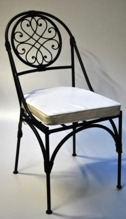 Smeedijzeren stoelen for Stoel bobois stoel